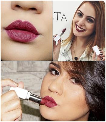 Fonte: http://www.camillastutz.com/2015/05/batom-jana-make-up-tblogs.html e http://janamakeup.com.br/novidade-batom-jana-make-up-%E2%99%A5/